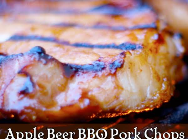 Apple Beer Bbq Pork Chops