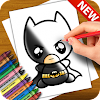 Learn to Draw Batman Characters APK