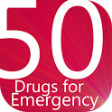 Common 50 Drugs For Emergency icon