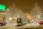 Helsinki sous la neige