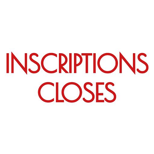 INSCRIPTIONS CLOSES