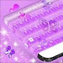 Purple Keyboard Girl Theme icon