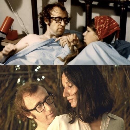 Woody Allen y Nati Abascal