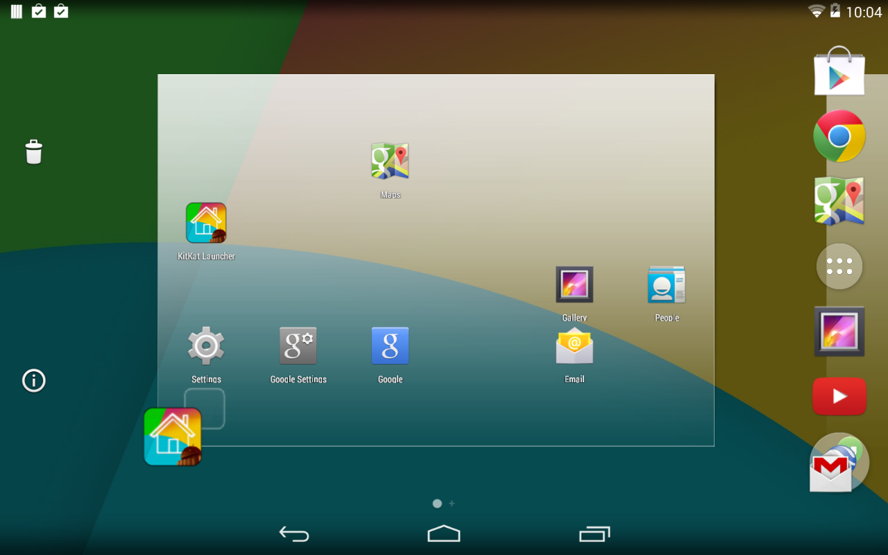 how to take screenshot in android kitkat