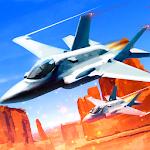 Jet Fighter Desert Race Icon