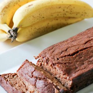 Skinny Chocolate Banana Bread