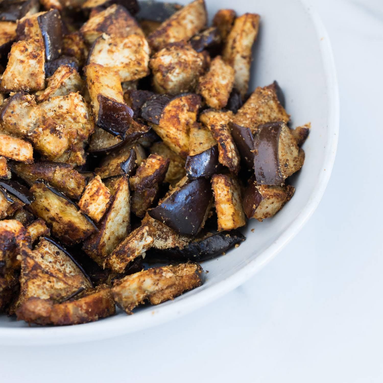 Crispy Roasted Eggplant