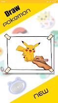 How to Draw Pokemon & Pokemon - screenshot thumbnail 01