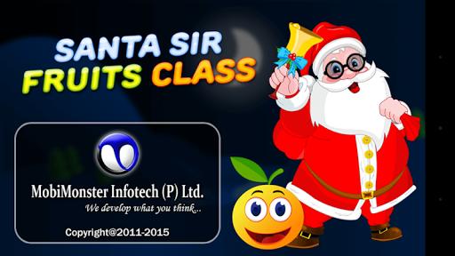 Santa Sir Fruits Class