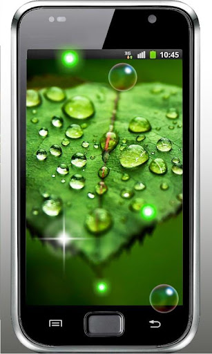 Drops Dew Grass HD LWP