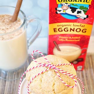 Eggnog Snickerdoodle Cookies.