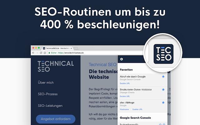 SEO-Dashboard von TechnicalSEO.de