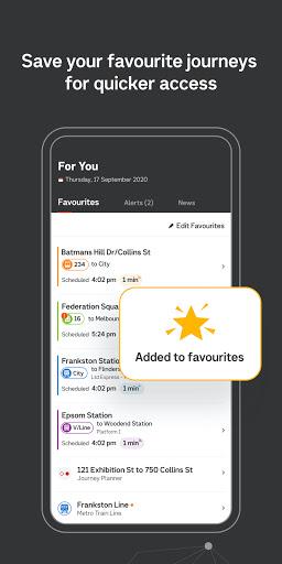 Public Transport Victoria app 1.5.1 Screenshots 5