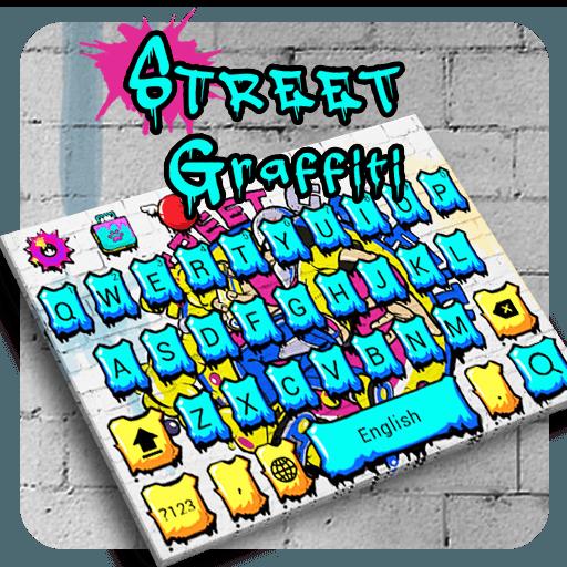 Street Graffiti Keyboard Theme
