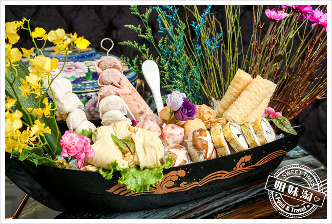 蒙娜麗莎海鮮鍋物鍋物拼盤