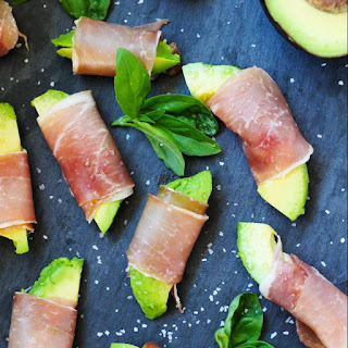 Prosciutto Wrapped Avocado Bites