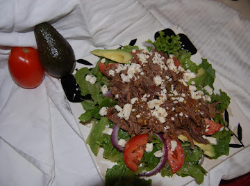 Roast Beef Salad With Feta Recipe