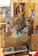 Photo: Мастер класс пастель в стиле Дэга
