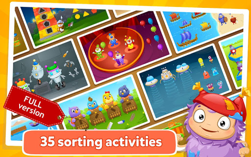 Kids Learn to Sort Lite android2mod screenshots 1
