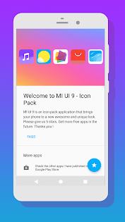 (APK) تحميل لالروبوت / PC MI UI 9 - Icon Pack تطبيقات screenshot