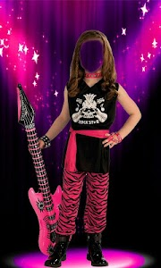 Rockstar Girl Photo Suit screenshot 7