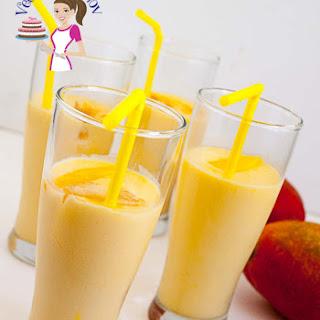 Mango Iced Drink Recipes.