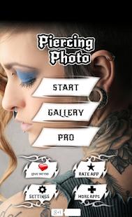 Piercing Photo Editor - náhled