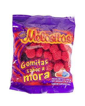 Gomas Triunfo Melositas   Mora x250G.