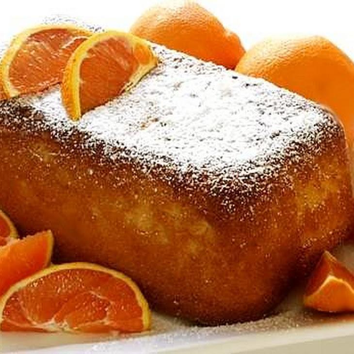 3. Orange Loaf Cake Recipe