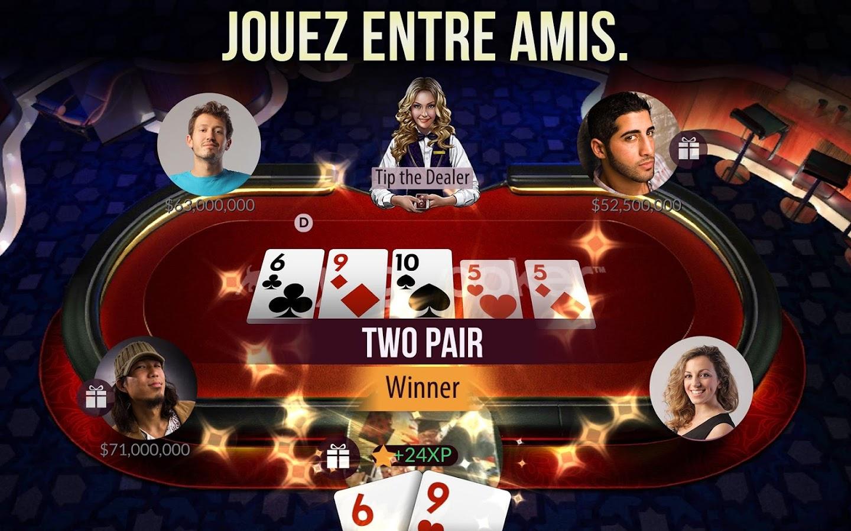how to play zynga poker on mac