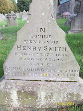 Photo: 15-Henry Smith, died June 17th 1886, aged 49 yearsAnnie Lousia, wife of above, born January 28th 1849, died July 1st 1910