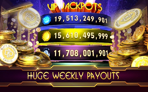 Zynga SLOTS Black Diamond Casino 3
