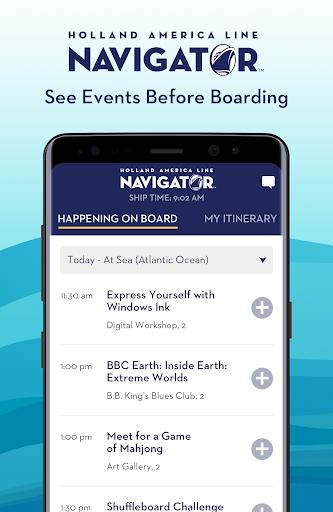 Holland America Line Navigator 1.7.5 screenshots 4