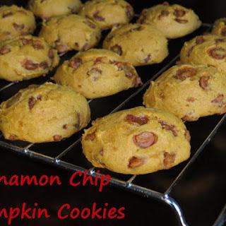 Cinnamon Chip Pumpkin Cookies Recipe
