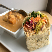 Lunch Special - Soup & Half-Wrap