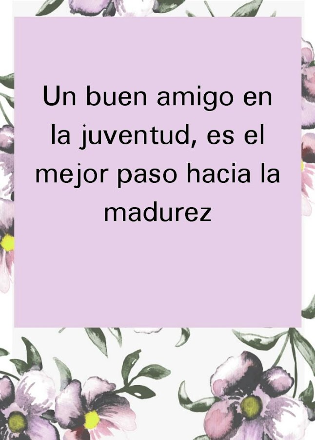 Quotes In Spanish About Friendship Impressive Friendship Quotes In Spanish  Android Apps On Google Play