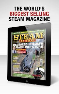 Steam Railway Magazine - náhled