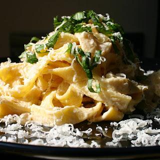 Lemony Crab Pasta.
