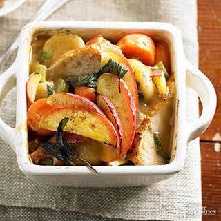 Turkey-Vegetable Casserole.