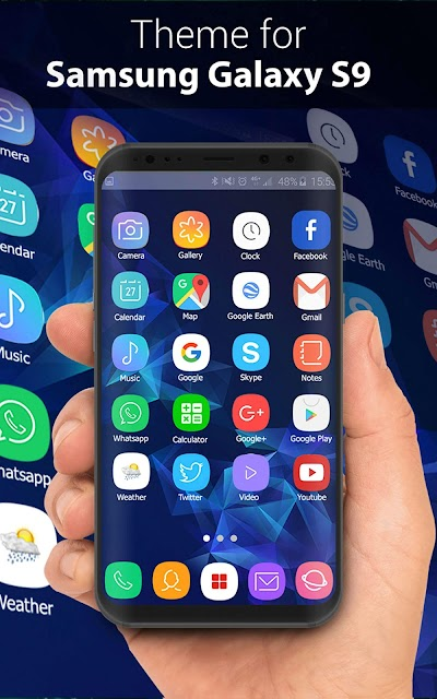 Theme for Samsung S9, Galaxy s9 Launcher APK Download - Apkindo co id