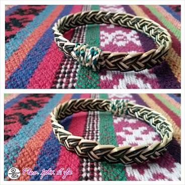 拉胡族草織手環