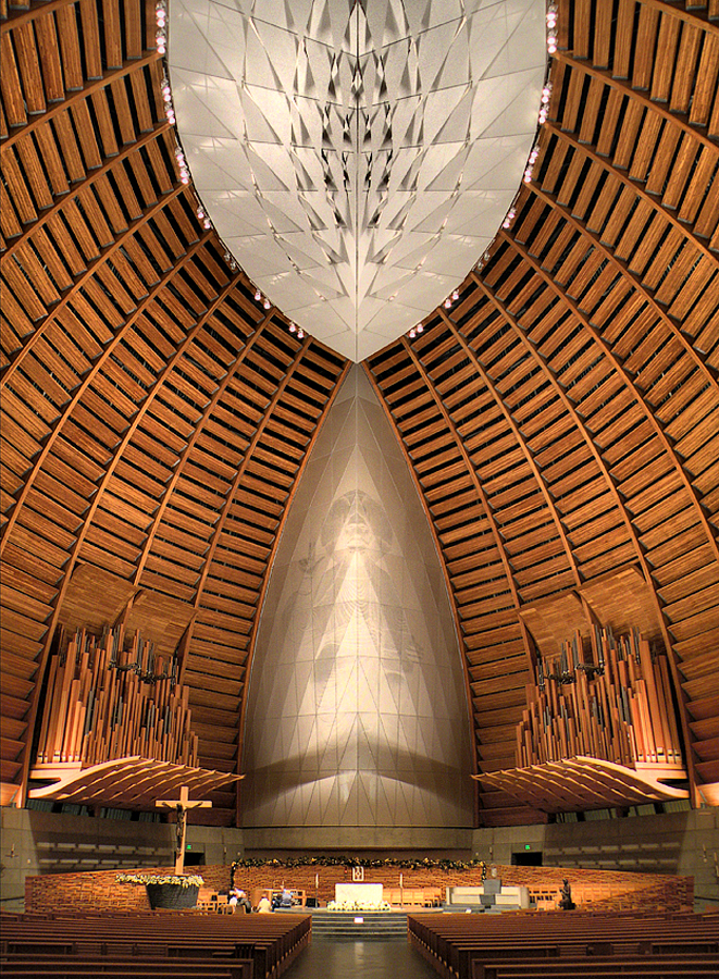 Christ the Light Cathedral by Gary Pope - Buildings & Architecture Other Interior ( interior, church, oakland, cathedral, architecture )