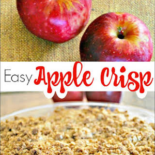 Easy Apple Crisp.