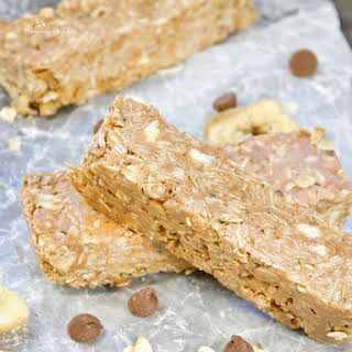 Homemade Granola Bars Healthy No-Bake.