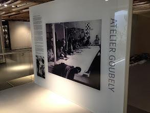 Photo: Panneau d'accueil de l'atelier Goubely