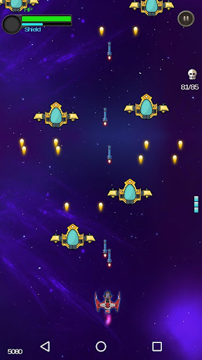 Space Shooter - Galactic War  captures d'écran 2
