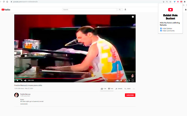 YouTube Rabbit Hole Sealant