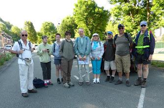 Photo: Ils étaient dix au départ (avec la photographe). Les Andelys 6 juin 2015.