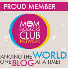 mom bloggers club button