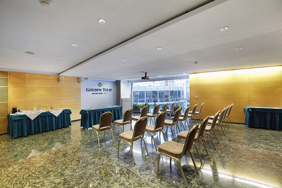 Organize your work events at the Golden Tulip Andorra Fènix Hotel